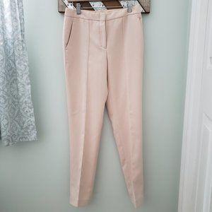 BCBGMaxAzria ballet pink trousers